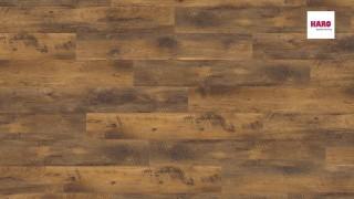 HARO laminált padló Vintage Oak