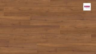 HARO laminált padló  Afromosia