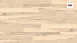 HARO faparketta Ash Sand White Universal br.