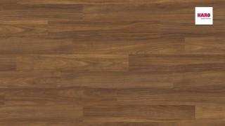 HARO laminált padló Iroko