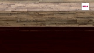 HARO laminált padló Graphite Oak