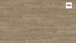 HARO parafa padló Oak Portland Dark Grey br.