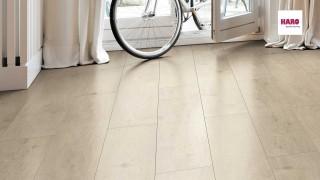 HARO Oak Sicilia White Laminált padló