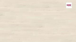 HARO laminált padló Oak Emilia White