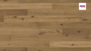 HARO Fumed Oak Invisible Sauvage br. N+ Faparketta