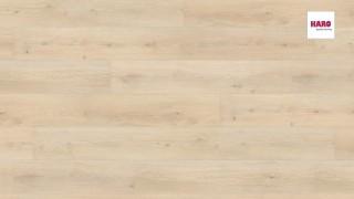HARO laminált padló Oak Emilia Velvet White