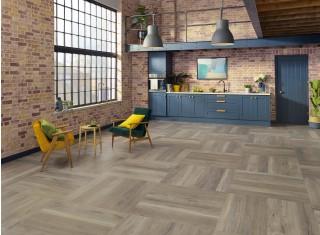 Designflooring Bleached Grey Walnut vízálló vinyl padló