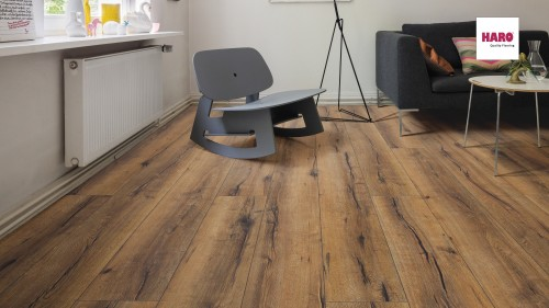 HARO laminált padló Oak Italica Smoked
