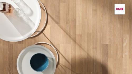 HARO faparketta Oak Puro White Exquisit br.