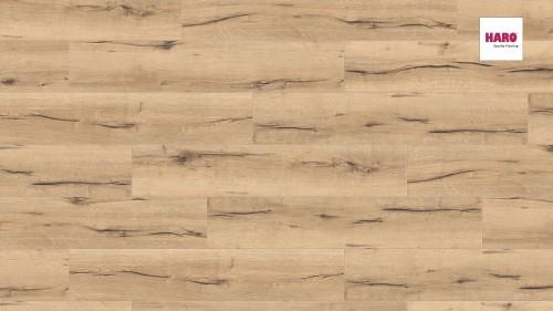 HARO laminált padló Oak Italica Creme
