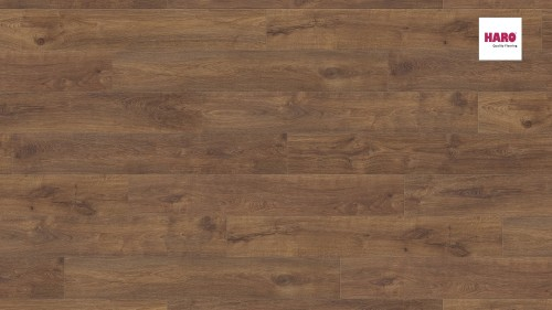 HARO laminált padló Oak with Smoked Heartwood