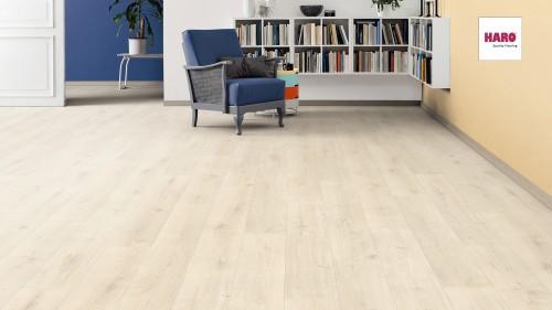 HARO laminált padló Oak Savona White