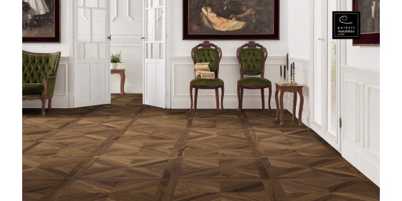 Parquet Tile Design Basket