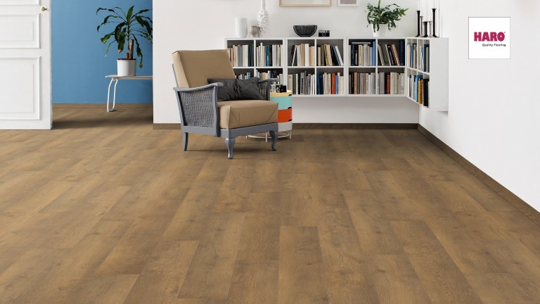 HARO laminált padló Oak Bergamo Nature