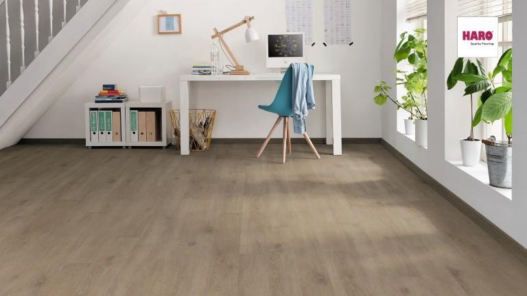 HARO Oak Veneto Crema Laminált padló
